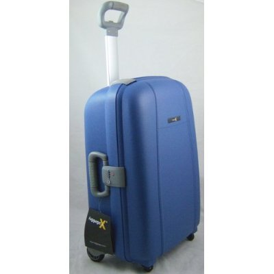 "Luggage X - 70cm (28"") Hard Shell BLUE Trolley Suitcase - NEXT DAY DELIVERY*"