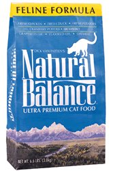Natural Balance Ultra Premium Formula Dry Cat Food