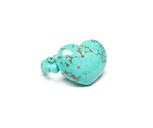 Lola Rose 'Alexa' Natural Blue Magnesite Stretch