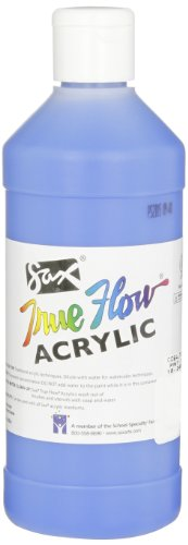 Sax True Flow Medium-Bodied Acrylic Paint - Pint - Cobalt Blue