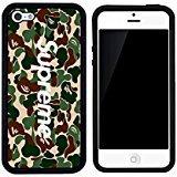 supreme-x-a-bathing-ape-bape-camo-caso-iphone-5c-case-cover-blanco