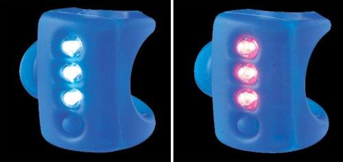 Knog Gekko Twin Pack Headlight & Taillight Combo - Blue Body.