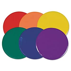 Buy Champion Sports 9-inch Poly Spot Markers Item MSPSET (Set of 6) by Champion Sports