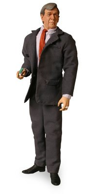 Picture of Sideshow Cigarette Smoking Man (formerly Cancer Man) 12 Inch Figure from The X-Files (B000HHNT8Q) (Sideshow Action Figures)