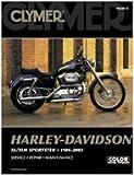 Clymer M429-5 Service Manual 1986-2003 Harley Davidson XL/XLH Sportster Evolution