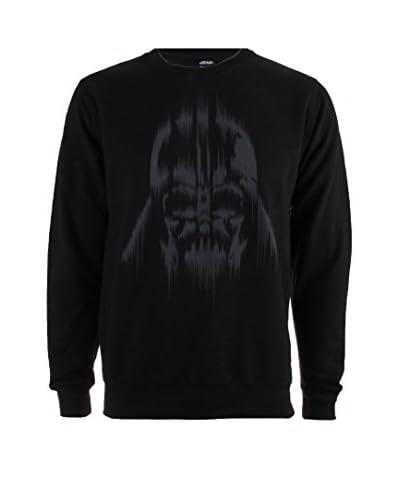 Star Wars Sweatshirt Vader Lines schwarz