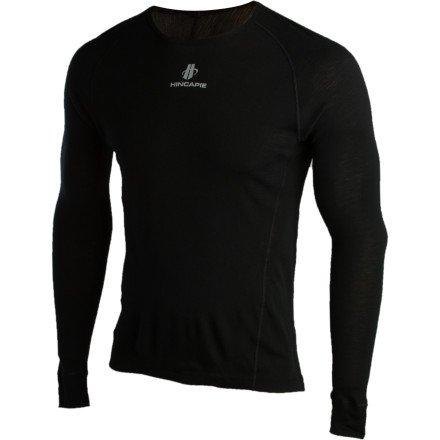 Buy Low Price Hincapie Sportswear PowerCore Merino Wool Base Layer – Long-Sleeve – Men's (B005QKTJ1A)
