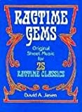 Ragtime Gems Original Sheet Music 25 Ragtime Classics (Jasen) (Dover Music for Piano)