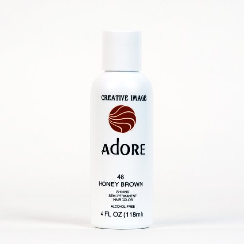 Adore Creative Image Hair Color #48 Honey Brown (Semi Permanent Brown Hair Dye compare prices)