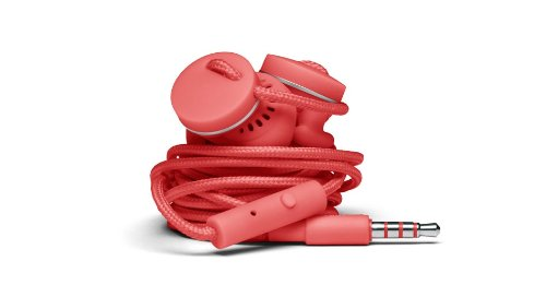 Urbanears 04090698 Medis In-Ear Headphones With Microphone - Coral
