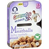 Gerber Graduates 2+ Kid Selects - Turkey Meatballs - 7.05 oz