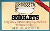 Sniglets (0852236956) by Hall, Rich