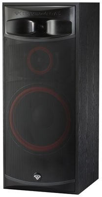 Cerwin-Vega XLS-15 3-Way Home Audio Floor Tower Speaker (Each, Black)