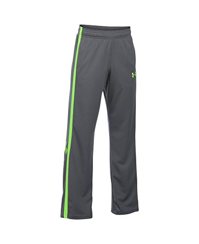 Under Armour Boys' Champ Warm-Up Pants, Graphite (040), Youth X-Large