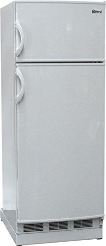 New Diamond Designer 10 Cu Ft Gas LP Propane White Top Freezer Refrigerator (Lp Electric Refrigerator compare prices)