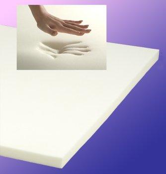 """Sleepwarehouse Premier Plus 4Lb 3"""" Twin Memory Foam Mattress Topper-On Sale+Free Pillow! front-48279"""