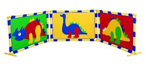 DINOSAUR PLAYPANEL/SET 3