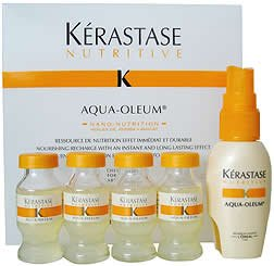 Kerastase Aqua-Oleum Treatment (0.41 Oz X 4) 0.41 Oz
