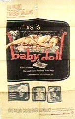 Original Baby Doll One Sheet Poster Featuring Carroll Baker front-1025705