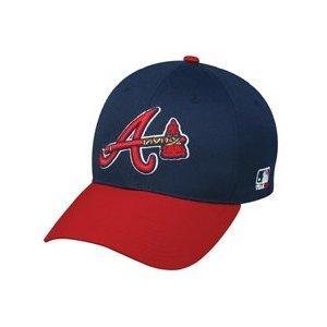"MLB ADULT Atlanta BRAVES Alternate ""Hatchet"" Hat Cap Adjustable Velcro TWILL"