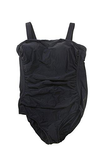 inc-international-concepts-plus-new-black-shirred-one-piece-swimsuit-20w-8998