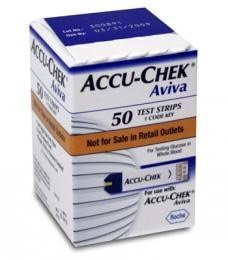 ACCU-CHEK AVIVA TEST STRIPS 50 EACH