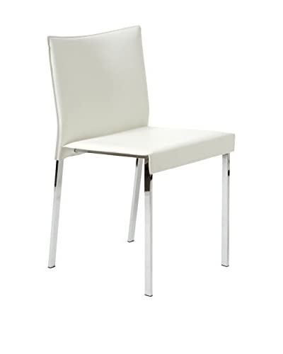 Eurostyle Riley Side Chair, White