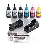 エレコム キヤノン用 詰め替えインク+リセッター/5色セット/詰替5回 THC-MP640SETN