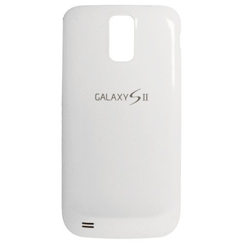 OEM Replacement Battery Cover Door for Samsung Galaxy S II T989 T-Mobile (White) by Samsung
