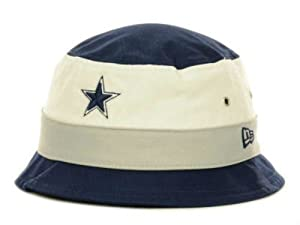 Dallas Cowboys New Era Bucket Youth Hat Cap Team Colors Fits Any Small Head Size -... by New Era
