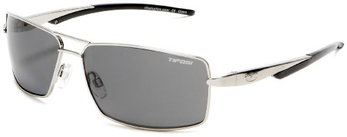 Tifosi Salvo T-P440 Aviator Sunglasses,Silver