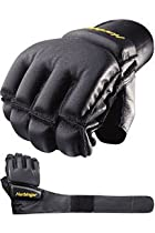 Harbinger Bag Glove WristWrap (Black, Small)
