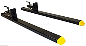 Clamp on Pallet Forks for Loader Tractor or Skid Steer (COF)