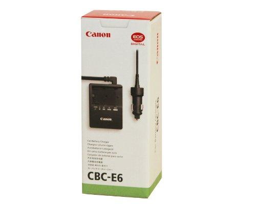 Canon CBC-E6 Car Batter Charger for Canon 5D Mark II Digital SLR