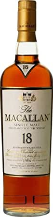 Macallan Single Malt Scotch 18 Yr. 750ML