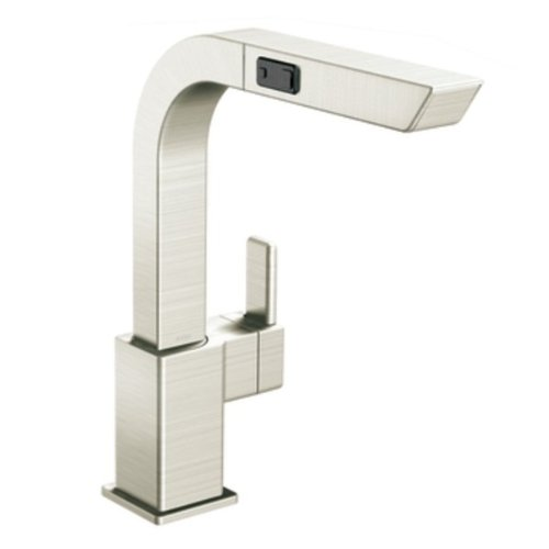 Moen S7597CSL 90-Degree One-Handle High Arc Pullout Kitchen Faucet, Classic Stainless