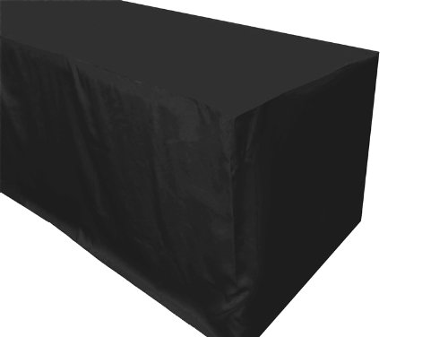6 feet Fitted Polyester Tablecloth Wedding Table Linens