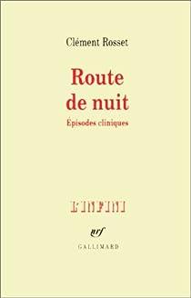 Route de nuit par Rosset