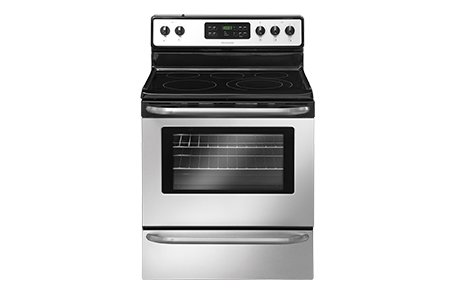 "Frigidaire Ffef3050L 30"" Freestanding Electric Range With Ready-Select Controls And Large Capacity, Stainless Steel"