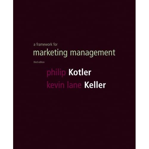 request_ebook Framework for Marketing Management 3rd Edition