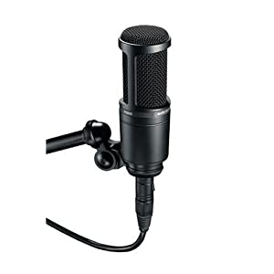 Audio Technica AT2020 Side Address Cardiod Condensor Studio Mic