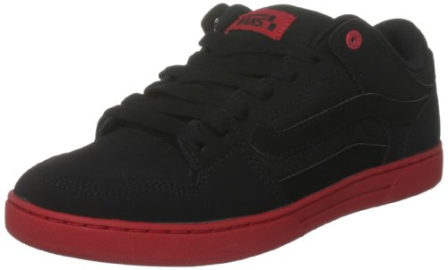 Vans Men's Baxter Black/Black/Red Trainer VL3M2UR 9.5 UK