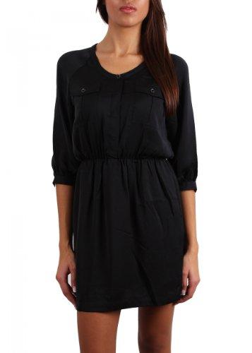 Replay Damen Kleid , Farbe: Schwarz