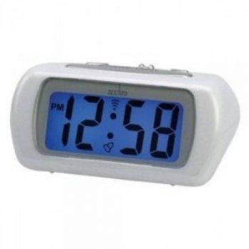 Acctim 12342 Auric Alarm Clock, White