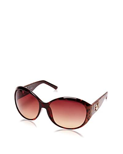 GUESS Gafas de Sol 6755 (58 mm) Burdeos