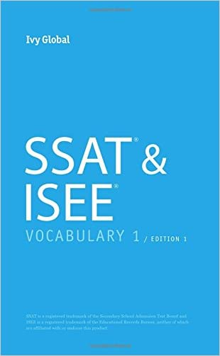 SSAT & ISEE Vocabulary 1 (Pocketbook), Edition 1