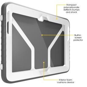 OtterBox Commuter Series case for Samsung Galaxy Note 10.1. Samsung Galaxy Note 10.1 tablet case