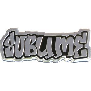Sublime Logo On Silver STICKER, Original Licensed Symbol on Embossed METAL STICKER - Large 9 Cm'), brand (Merchant: 'C&D Visionary' / Amazon: 'Sublime'), manufacturer (Merchant: 'C&D Visionary' / Amazon: 'Sublime by C&D Visionary