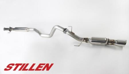 Stillen 508196 Stainless Steel Cat-Back Exhaust System - 11-14 Nissan Juke Fwd front-919647