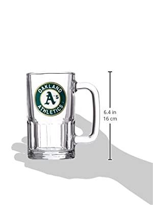 MLB 20-Ounce Root Beer Style Mug - Primary Logo